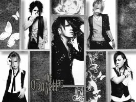 the GazettE monochrome by Sam-Chan-ALPHA