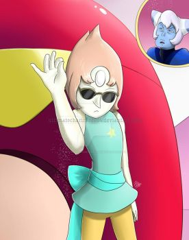 Pearl the real Salt Bae - Steven Universe by UltimateCharizard006