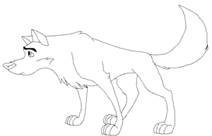 balto lineart 3 by brianamcginnis