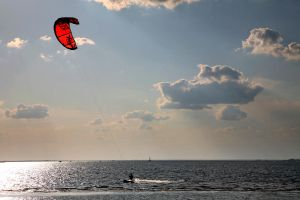 Kitesurfing by Doumanis