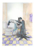 Chore Batman by RadPencils