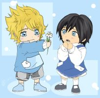 .: KH : Roxas and Xion :. by KickBass77