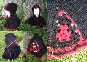 Dark Brotherhood Woodland Capelet by Arexandria