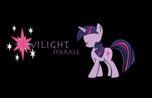 Twilight Sparkle Background by Shadaily