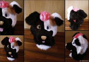 Stormy Fursuit Head by Alinchen-Tenny