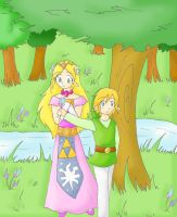 A flower for Zelda by SparxPunx
