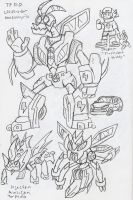 TF_RiD: Waspinator and Injector concept by BlueIke