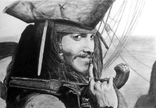 Captain Jack Sparrow by KCHuang