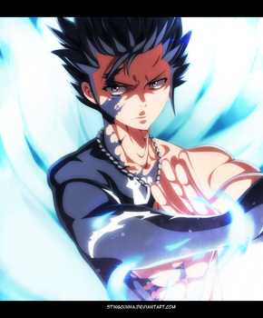Fairy Tail 446 - Gray Fullbuster demon slayer by StingCunha