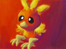 Just Torchic by Quacksquared