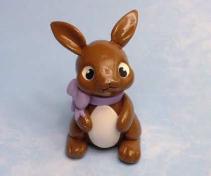 Milk Chocolate Bunny by whitemilkcarton