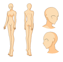 Human Profile ::Base:: by IPixelBecauseICare