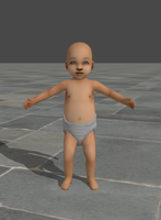 Meshmod - My Contribution to Baby in XPS by KellWesker