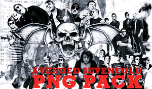 Avenged Sevenfold png pack by LucyWayne