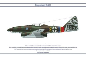Me 262 JG7 1 by WS-Clave