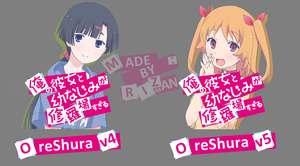 OreShura v4 and v5 - Anime Icon by Rizmannf
