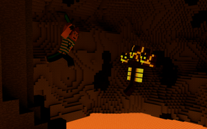 Final Underground Battle - Magma Wither by Moebiusium