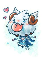 Fly with Poro by sueyen79417