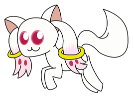 Kyubey by ColorfulWonders