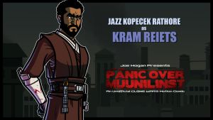 POM - Kram Reiets played by Jazz Rathore by JoeHoganArt