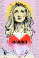 Marina and The Diamonds by jimpenola