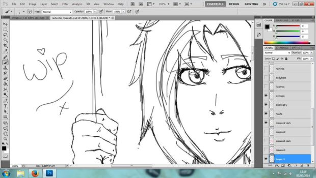 Bringing you back to life! - WIP by SuteishiSan