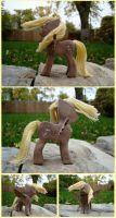 Derpy Hooves Woodwork V by xofox