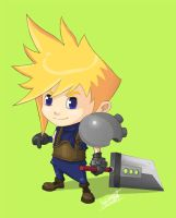 Chibi Cloud FF7 by Sammy514
