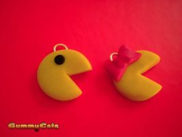 Mr and Mrs Pac Man by Christine-E
