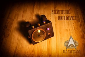 Steampunk Arm Device 2 by flosvensson