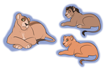 Pregnant lioness adopt /CLOSED/ by Karksy