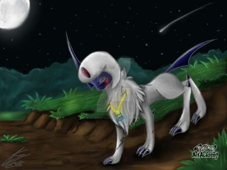 Wow I found an old Absol drawing:0 by CynyJoyce