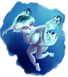 Daily Painting #3: Queen Ruto by Mumpkins