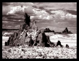 Infared Series-Shiprock by Doubtful-Della