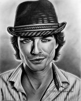 Ian Somerhalder by Mariannaeva