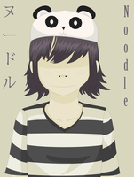 """Noodle - """"GORILLAZ"""" Box Ghost Style by 0Box-Ghost0"""
