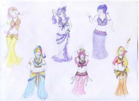 Bellydance design project: MLP:FIM by Pentesilea