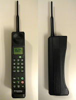 Motorola International 3200 - Digital Brick Phone by Redfield-1982