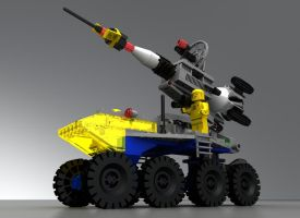 LEGO 6950 Rocket Launcher by zpaolo