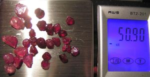 Rubies for Magic Vial Pendants by Izile