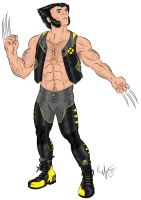 Wolverine SNIKT Color by Kaufee