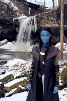 Jotun Loki and Waterfall by nomokis