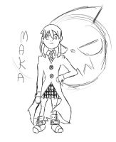 Maka Sketch by Neighthirst