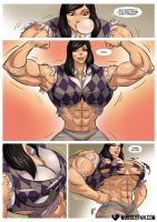 Girl Power by female-muscle-comics