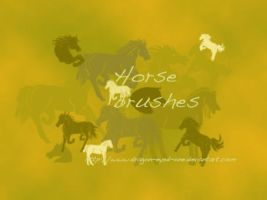 horses brushset 2 by Dragon-eyed-one
