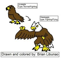 Fakemon: The great Eagle by Brian12