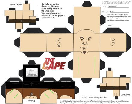 The Cape2: Rollo Cubee by TheFlyingDachshund