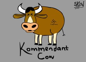 Kommendant Cow by skov