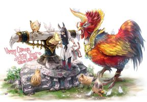 2017_the Year of the Chicken by RYOxKJ