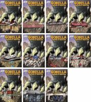 My Godzilla 1 Store Varients by ragelion